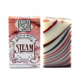 Savon Steam Aloe vera et Argan - surgras - Vegan