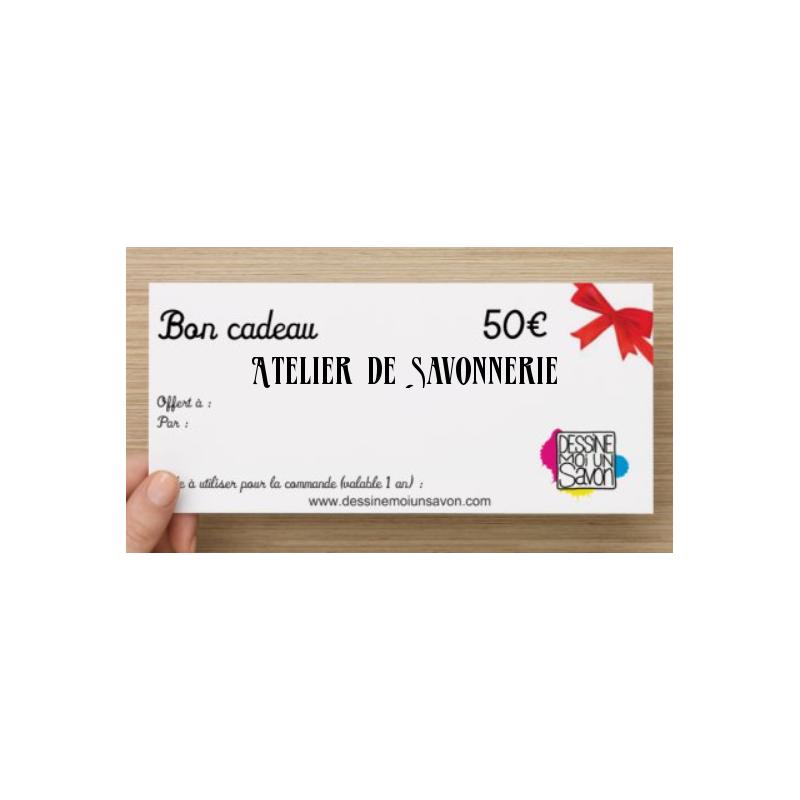 Cheque cadeau Atelier