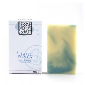 Savon Wave, Karité - peau sensible - surgras - Vegan
