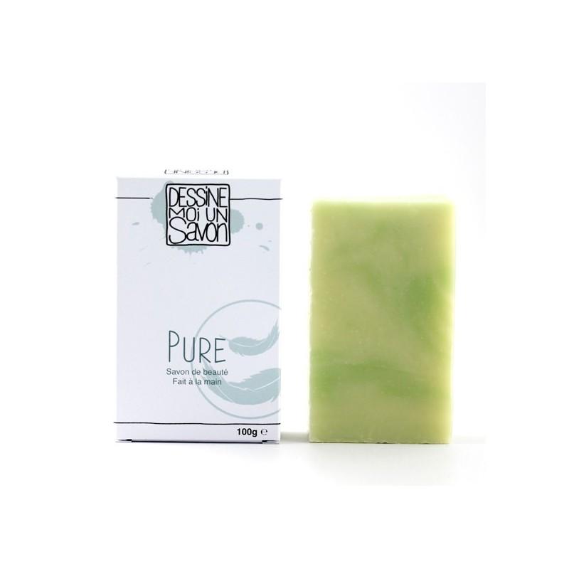 Savon Pure, Karité parfum Menthe - surgras - Vegan