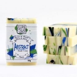 Savon Abstract enrichi en aloe vera - surgras - vegan - mini format