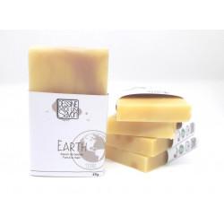 Savon Earth, Karité et parfum boisé - surgras - Vegan - Mini format