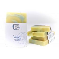 Savon Wave - Enrichi en karité - Surgras - Vegan -  Mini format